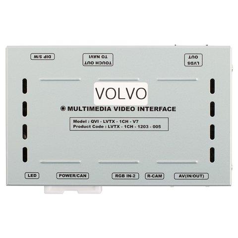 """Автомобільний відеоінтерфейс для Volvo з монітором 7"""" Прев'ю 5"""