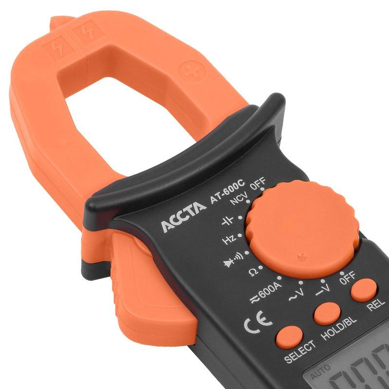 Струмовимірювальні кліщі Accta AT-600C Зображення 6