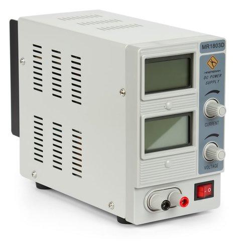 Лабораторний блок живлення Masteram MR1803D Прев'ю 1