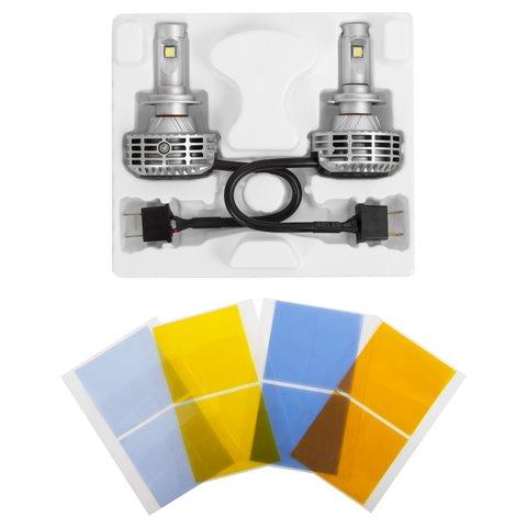 Набір світлодіодного головного світла UP-6HL (H7, 3000 лм) Прев'ю 1