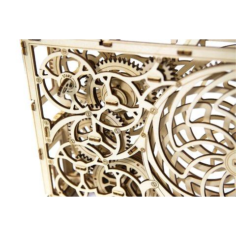 Дерев'яний механічний 3D-пазл Wooden.City Кінетична картина Прев'ю 4
