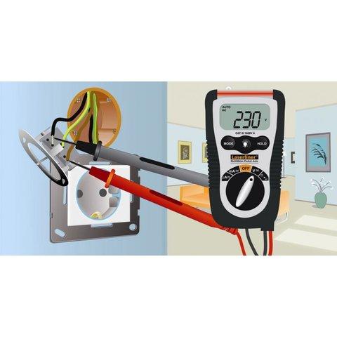 Кишеньковий цифровий мультиметр Laserliner MultiMeter-Pocket Прев'ю 3