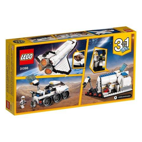 Конструктор LEGO Creator Космічний дослідницький шаттл 31066 Прев'ю 5