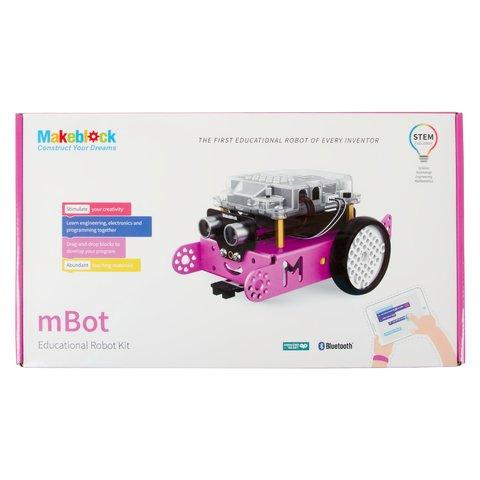 Конструктор Makeblock mBot v1.1 (рожевий)