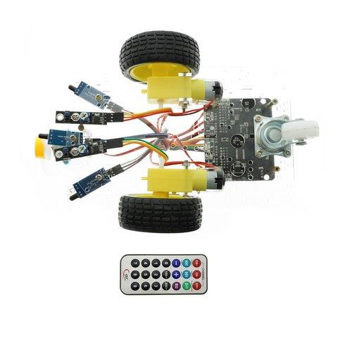 Конструктор на базі micro:bit Розумний робот-пожежник + посібник користувача Прев'ю 1