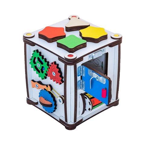 Бізіборд GoodPlay Кубик для розвитку з підсвіткою (17×17×18) Прев'ю 5