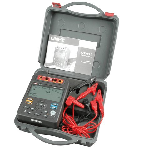 Insulation Tester UNI-T UT511 Preview 8