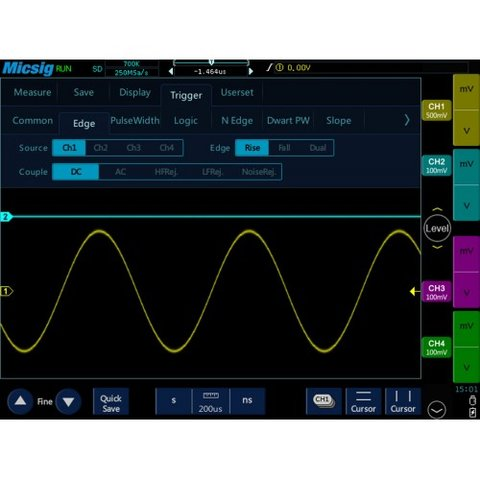 Tablet Digital Oscilloscope Micsig TO1102 - Preview 6